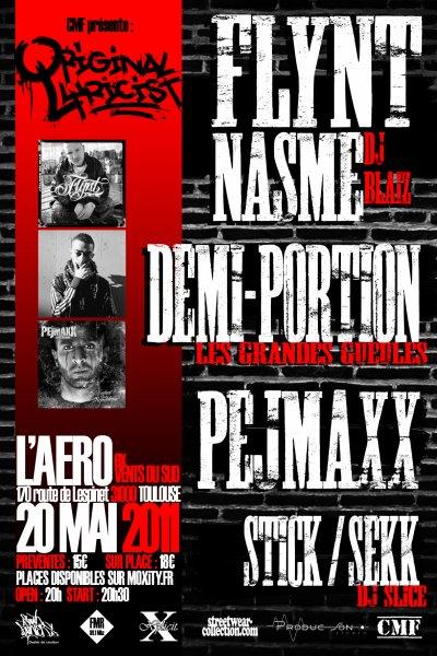 "Concert ""Original Lyricist"" - Toulouse 2011"