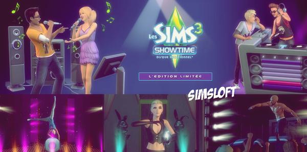 Les Sims™ 3 Showtime Édition limitée