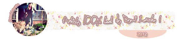 Article #001 ~ Article 100% look de Demi Lovato !
