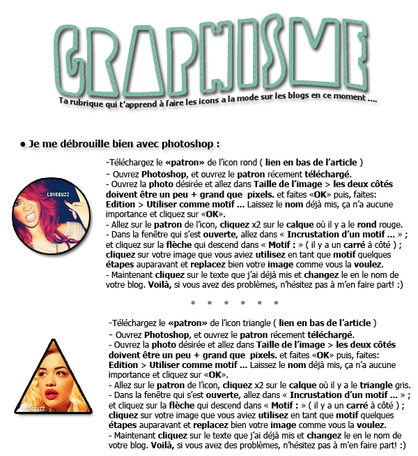 Article #008 ~ Graphisme.