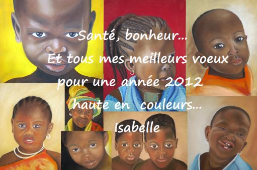 Bonne et belle année 2012 à tous !!!