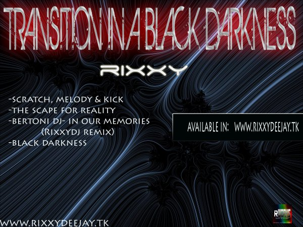 A Xmas Gift: My New EP --- > A Transition in a Black Darkness