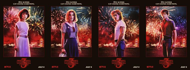 Affiches promotionnelles de la saison 3. (2019)