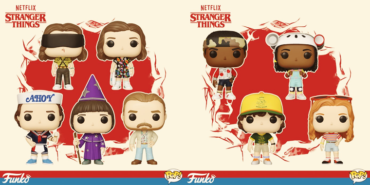 Figurines Funko Pop. (2019)