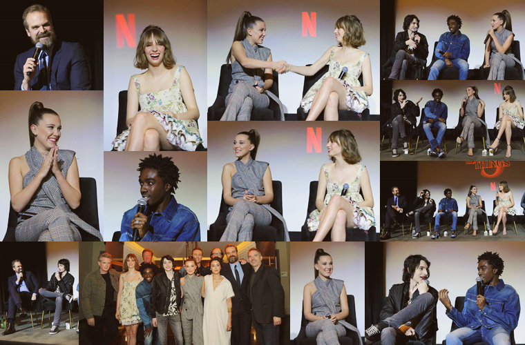 Stranger Things 3 : Panel, West Hollywood. (2020)