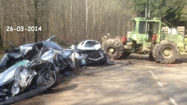 tracteur forestier accident