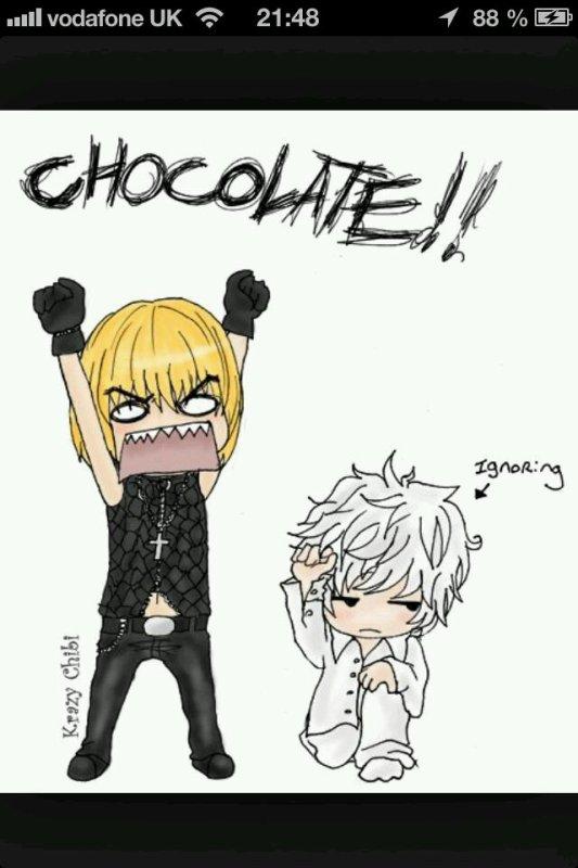 CHOCOLATE!!! *-*
