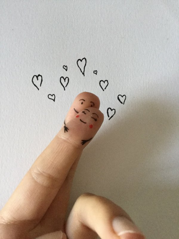 Dessin- Lovely fingers