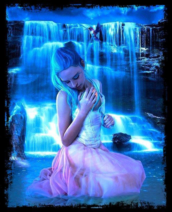 tous se que j'aime bleu et romantique je trouve