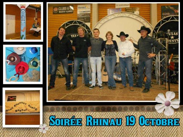 Soirée Rhinau 19 Octobre 2013