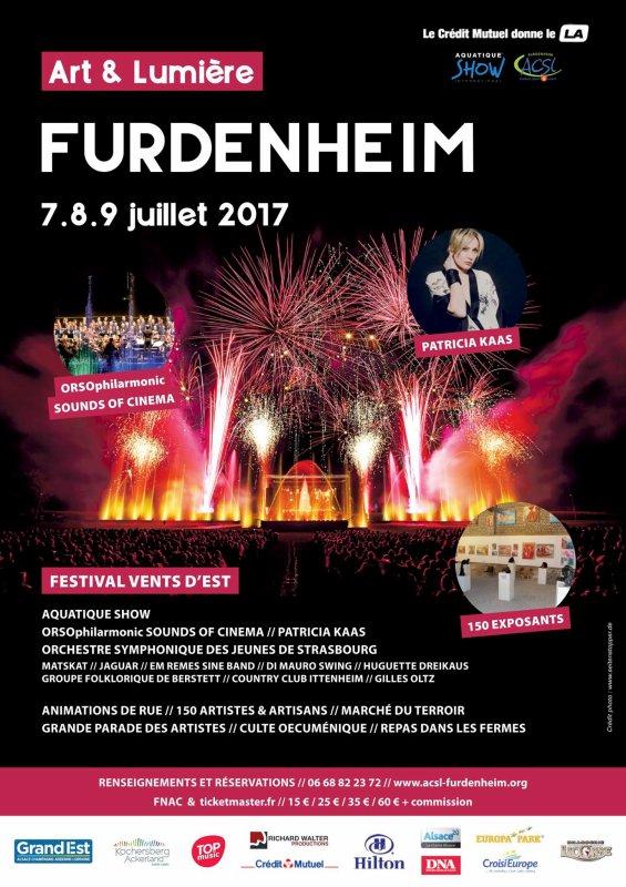 Week End Art et Lumière à Furdenheim : Soirée du Samedi 08.07.2017