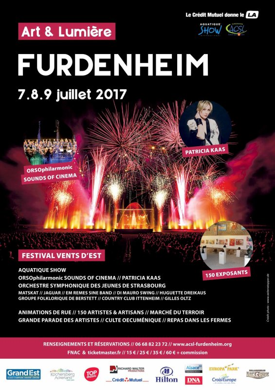 Week End Art et Lumière Furdenheim : Dimanche 09 Juillet 2017