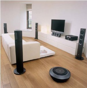 Impressive Accessories Include A Home Theater System