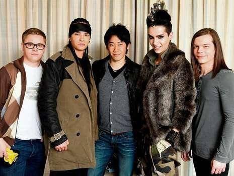 10.02.2011 - Tokio Hotel & Shinji Kagawa, Tokyo (Japon)