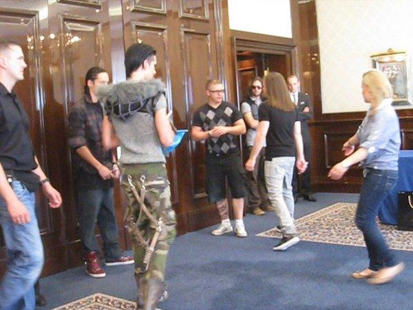 03.06.2011 - Meet & Greet en Russie (Moscou)