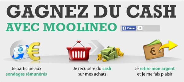Moolineo: tu peux gagner du cash facilement