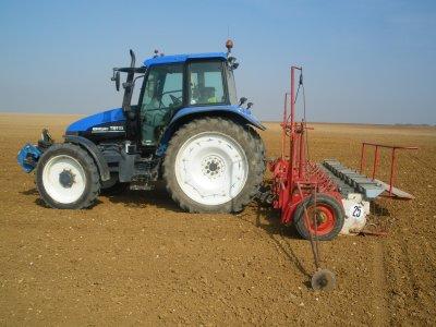 semis  de betterave 2011 avec le ts 115