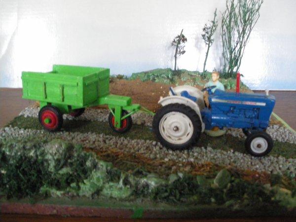 chariot 3 roues en bois