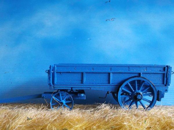 suite du chariot encore toutes les chaines et  les attelages