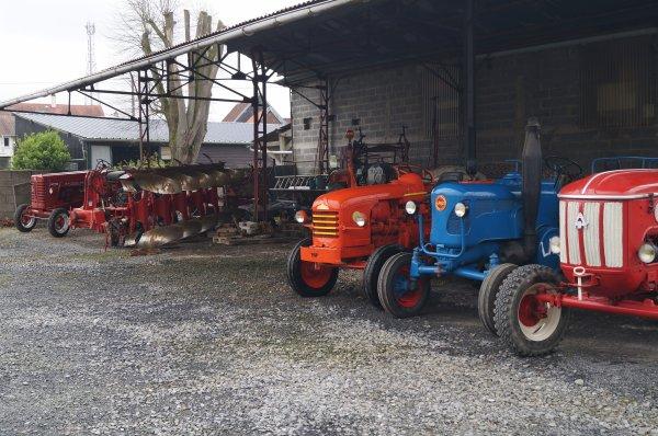 mes anciens tracteurs
