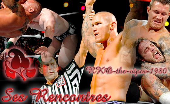 Rencontres de Randy Orton