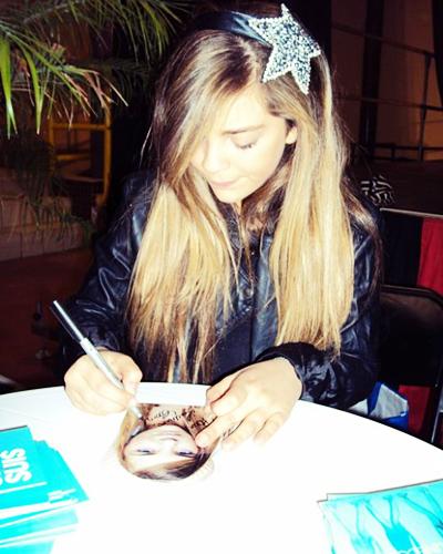 Caroline au téléthon 2010 !