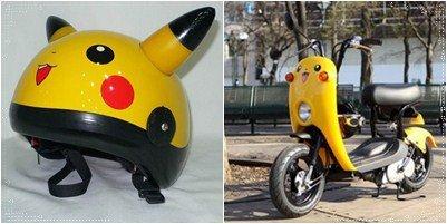 Moyens de transports Pokémon
