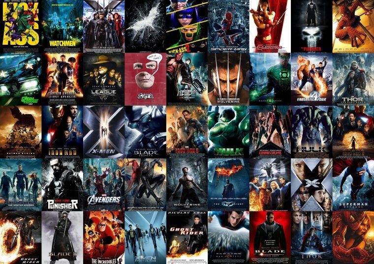 Supers Héros : Les stars du box-office