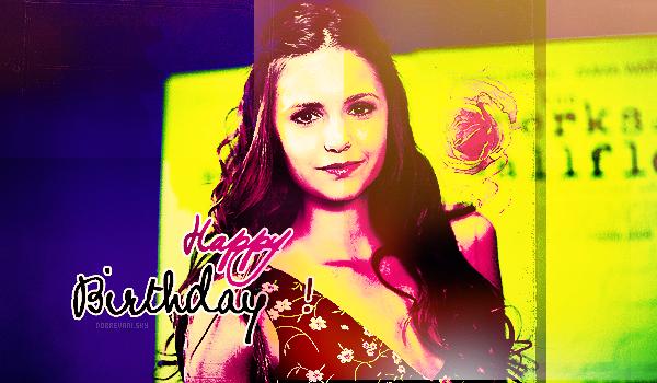 Le 9 janvier 2013 est un jour spécial.. Nikolina Dobrev fête ses 24 ans ! Happy Bday♥Nina est une personne extraordinaire, je suis une fan depuis un bout de temps, je lui souhaite pleins de bonnes choses.