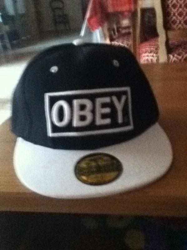 Ma casquette OBEY !