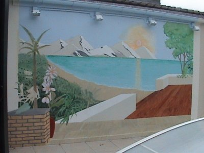 Fresque Murale Trompe L Oeil La Grande Misère Des Gens