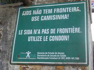 Rappel Affiche faire au Brésil merci