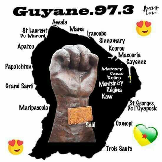 La Guyane est mobilisée