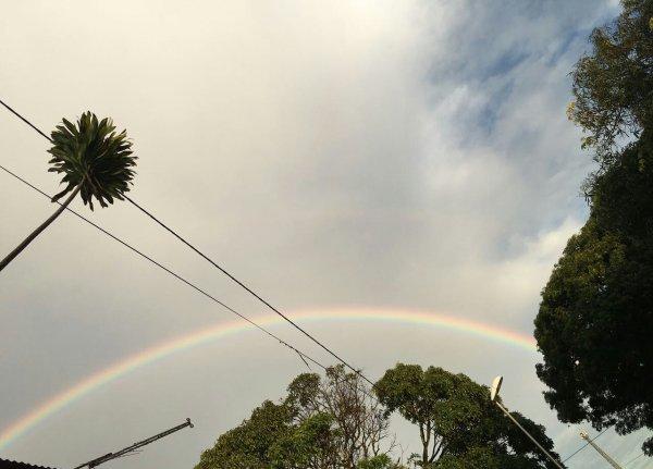 Magnifique arc en ciel