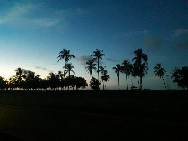 Une nuit à la plage