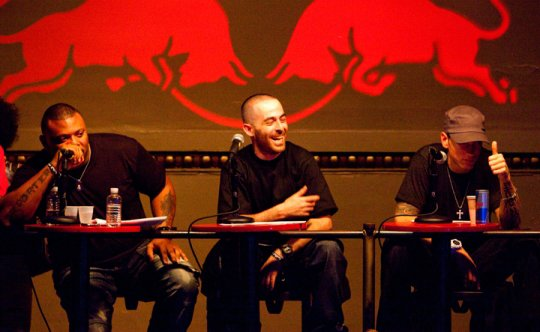 Eminem juge pour la competition du rap au St.Andrews