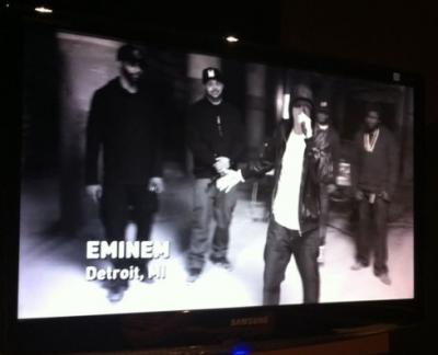 Eminem dans Cypher 2011