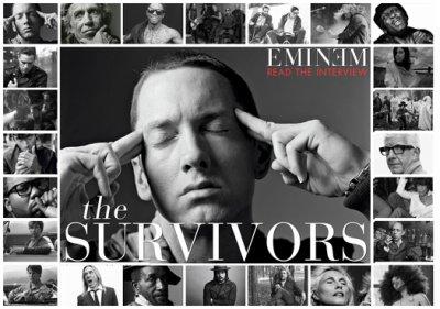 Eminem, Lil Wayne et Raekwon sont des Star du Rock pour GQ