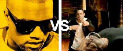 Emienm feat Dr Dre  VS  Kanye west