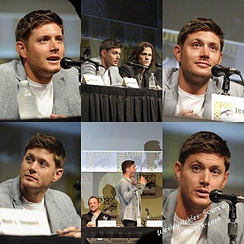 Flash Back : L'équipe de Supernatural ainsi que celle de Vampire Diaries au Comic Con de San Diego. (15/07/12)