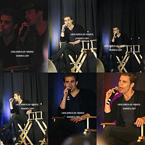 Paul :  Le 18 et 19 Aout, une convention dans le New Jersey à eu lieu, et Paul s'y est rendu avec Ian, Torrey, Steven, Zach et Michael. + Quelques photos perso de lui et sa famille.