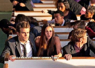 Photo de promo de l'épisode 01x4 de Vampire Diaries et Photos du tournage à Atlanta + Vidéo promo de la saison 8 de Supernatural.