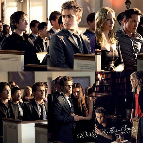 """Stills de l'épisode 4x02 de Vampire Diaries, intitulé """"Mémorial"""" ainsi que la Bande annonce. + Stills épisode 8x03 de Supernatural appelé """"Heartache""""."""