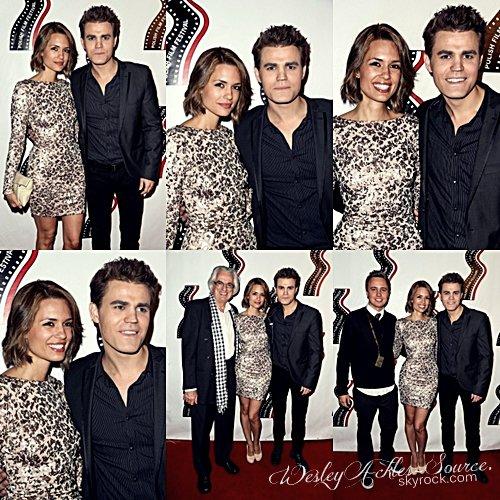 Paul et Torrey étaient  présents le 09 octobre dernier au 13e festival du Film Polonais qui se déroulait à Los Angeles. Paul y a reçut un prix, bravo à lui ! Voici les photos du tapis rouge.