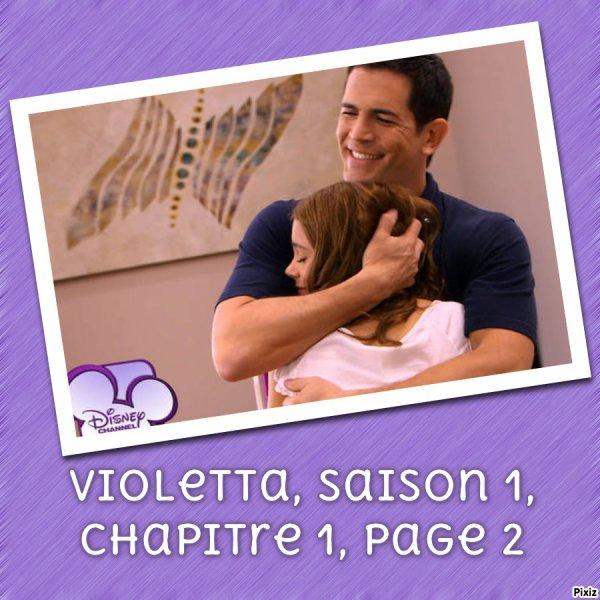 Fiction : Violetta, saison 1, chapitre 1, page 2