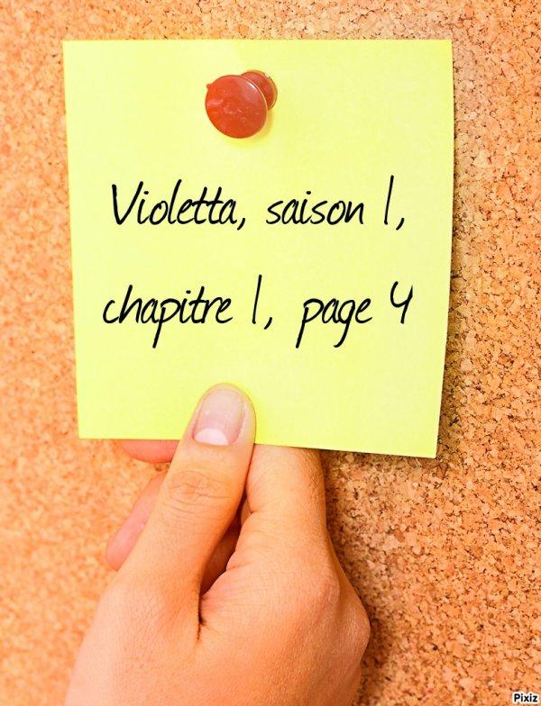 Fiction : Violetta, saison 1, chapitre 1, page 4