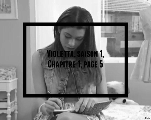 Fiction: Violetta, saison 1, chapitre 1, page 5