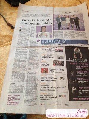 RADIO ITALIA – MILAN – VIOLETTA LIVE