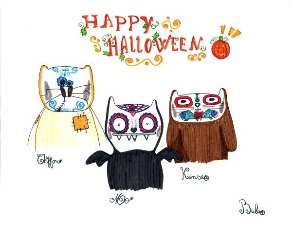 Joyeux halloween et bon jour des morts !