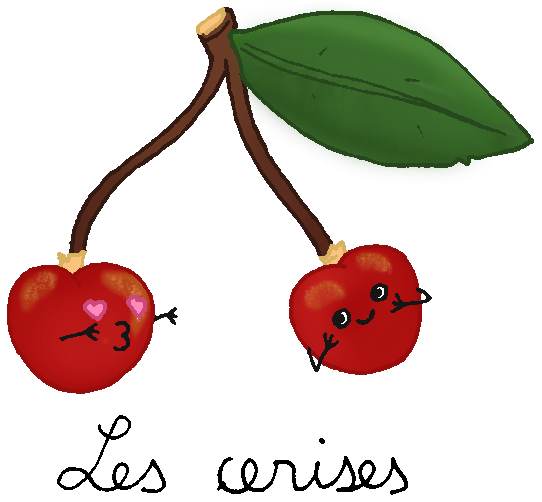 Dessins de léguuuuuuumes et fruits 1
